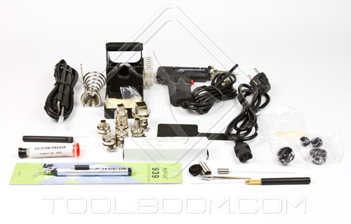 AOYUE 2702A+ Lead Free Soldering Station Package Content