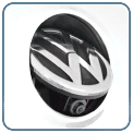 Камера заднего вида для Volkswagen (в логотип)