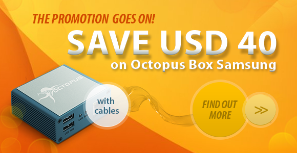 Get USD40 Discount on Octopus Box Samsung