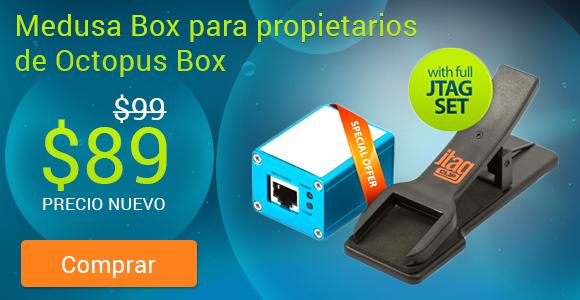 ¡Medusa Box para propietarios de Octopus Box - ahora por tan sólo  89$ con envío gratuito!