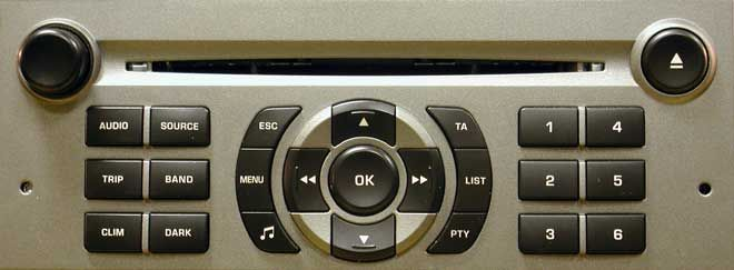 Citroen RD4 Head Unit