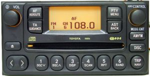 Toyota Avensis 2003 head unit
