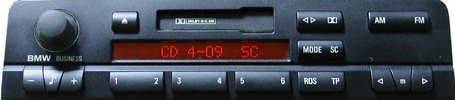 BMW Business Head Unit