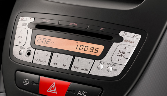 Toyota Aygo Head Unit