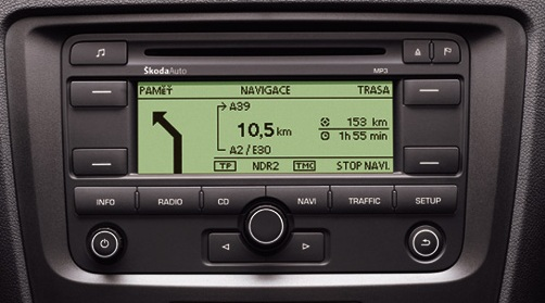 Skoda Cruise Head Unit