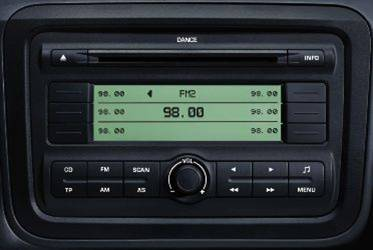 Skoda Dance Head Unit