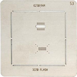 BGA-трафарет 6230 RAM 3220 FLASH