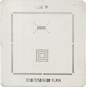 BGA-трафарет 7210 MF 7210/7250/6100 FLASH