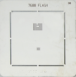 BGA-трафарет 7688 FLASH 3510 CPU