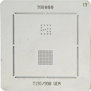 BGA-трафарет 998T191/998