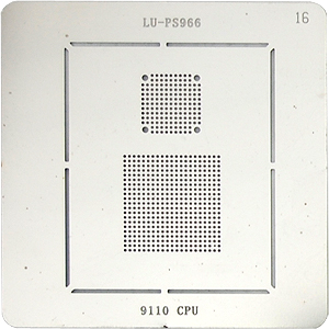 BGA-трафарет LU-PS966 9110 CPU