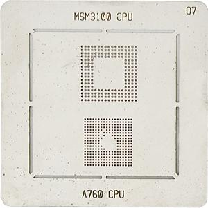 BGA-трафарет MSM3100 CPU A760 CPU
