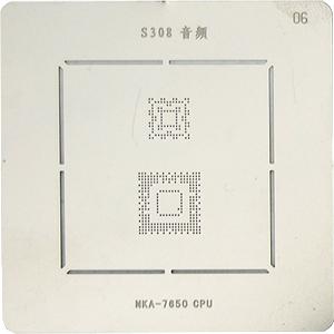 BGA-трафарет S308 AF 7650 CPU