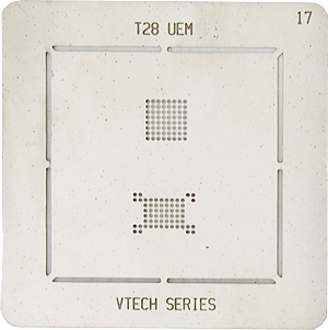 BGA-трафарет T28 UEM VTECH SERIES