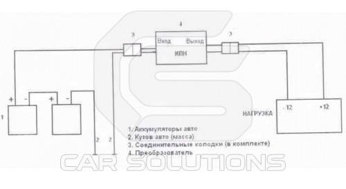 Импульсный преобразователь 24в 12в для 24в в 12в схема авто преобразователь 12 Преобразователь напряжения 24 в 12...