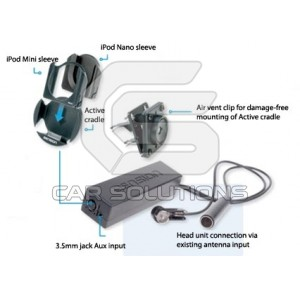 Car iPod/MP3 FM Transmitter Dension Ice>Link One ILF7CR91