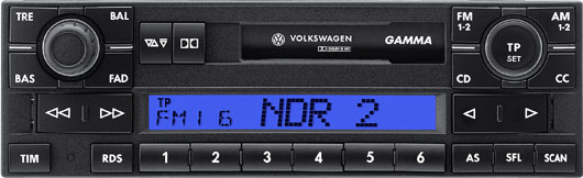 Head unit Volkswagen Gamma