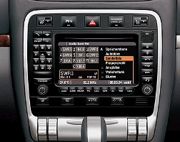 Porsche PCM2.1 DVD head unit