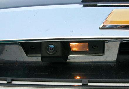Reverse camera installation in Chevrolet