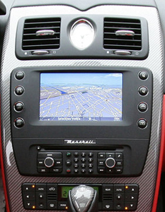 Maserati Quattroporte head unit