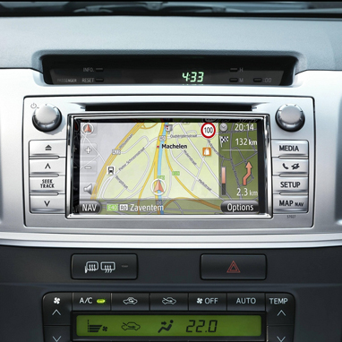 Navigation System on Android for Toyota Touch & Go on Andromeda Platform