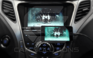 Samsung image mirroring on the car OEM monitor