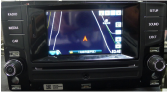 Volkswagen AUX head unit