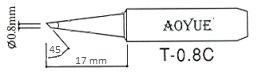AOYUE T-0.8C