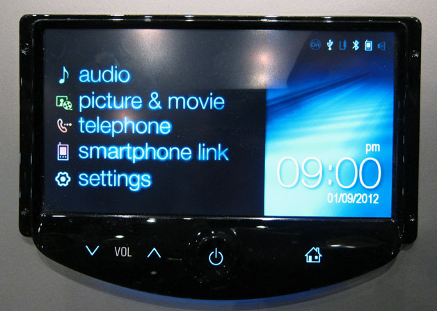 MyLink head unit