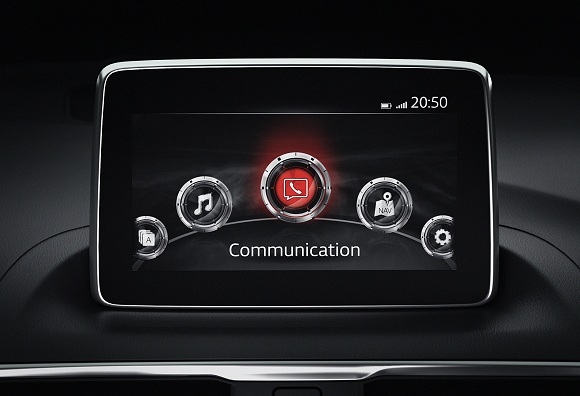 Mazda Connect Monitor
