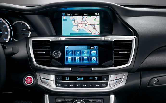 Honda Accord Touch Screen