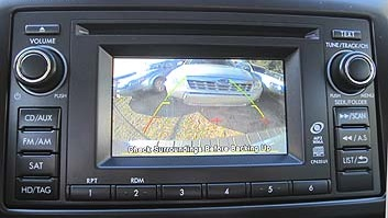 Subaru 4.3 screen