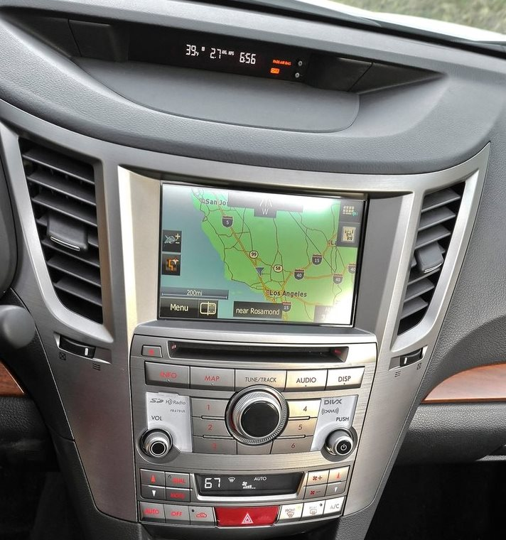 Subaru External DVD navigation unit