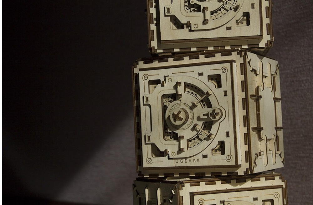 Mechanical 3D Puzzle UGEARS Safe