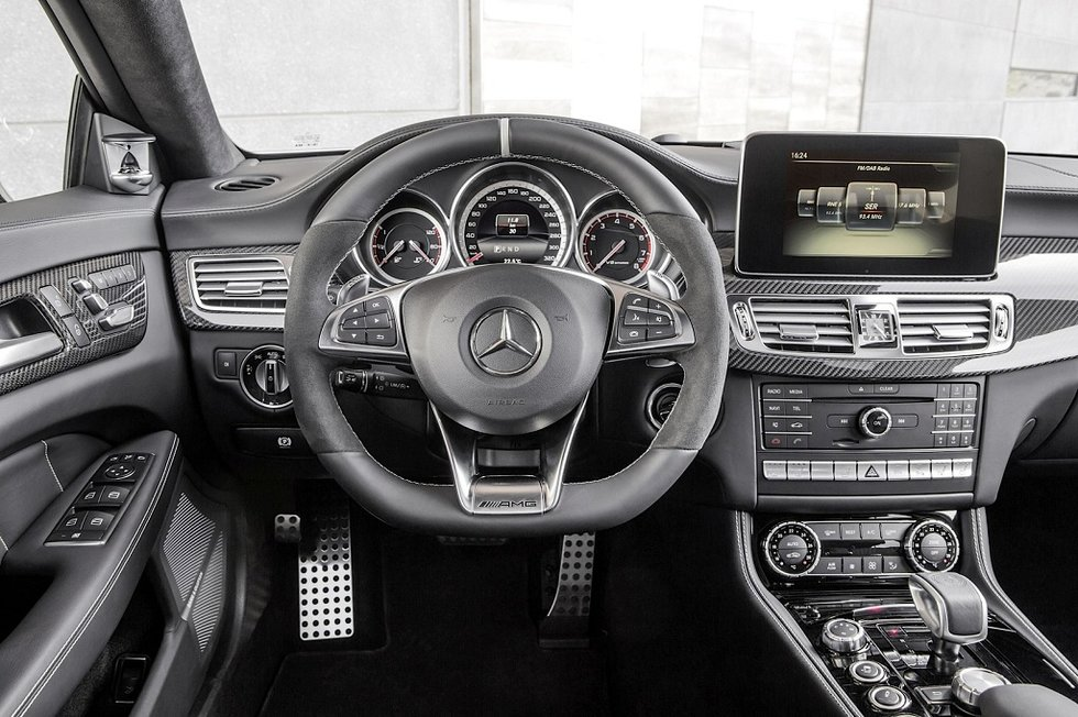 Mercedes-Benz CLS head unit