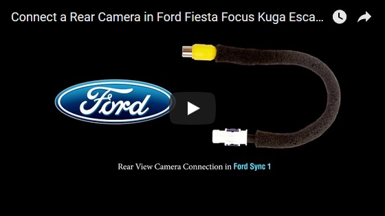 Car Camera Connection Cable for Ford Ecosport Escape Fiesta Fiesta ST Focus Kuga