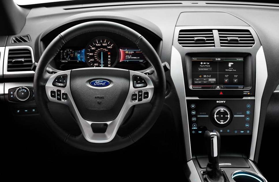 Ford head unit