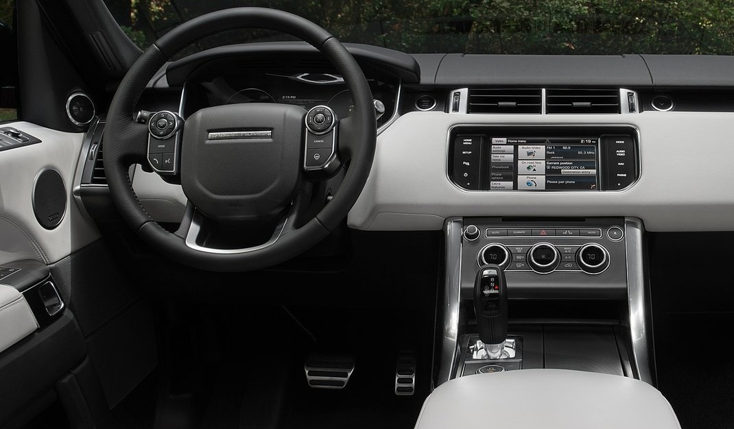 Range rover head unit