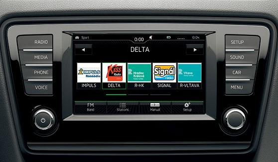 Skoda Octavia head unit