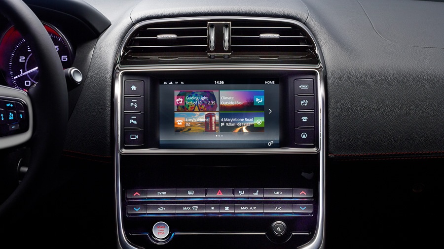 Jaguar head unit