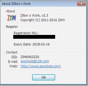 Defining when ZXW Tool Expires