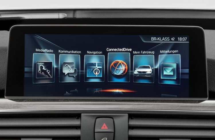 BMW head unit