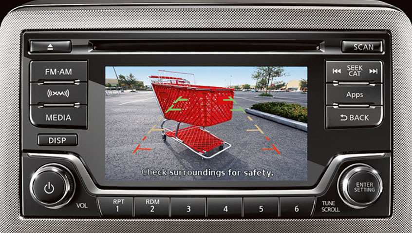 Nissan Audio US 5 inch display