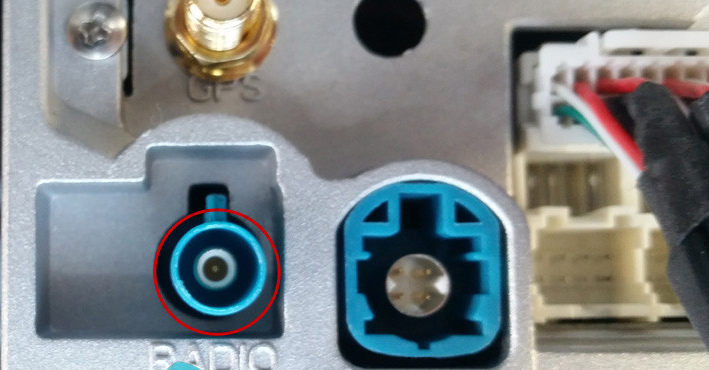 Single FAKRA connector