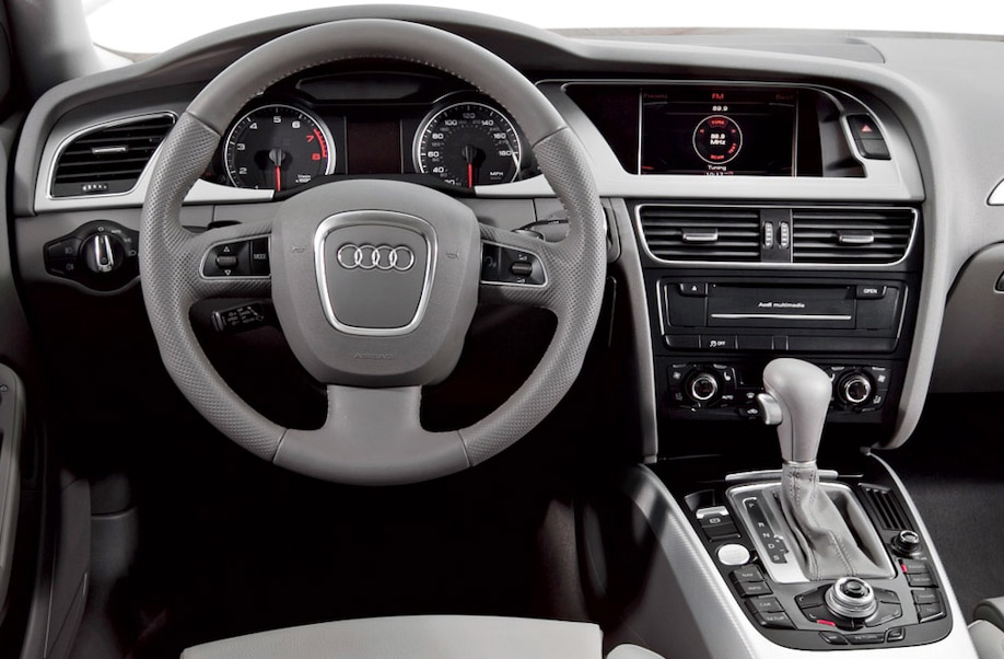 Audi with MMI 3G+ head unit