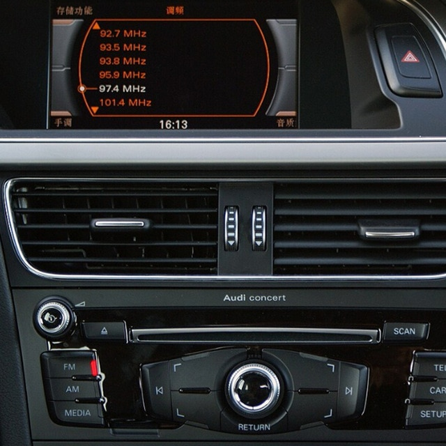 Audi without MMI head unit