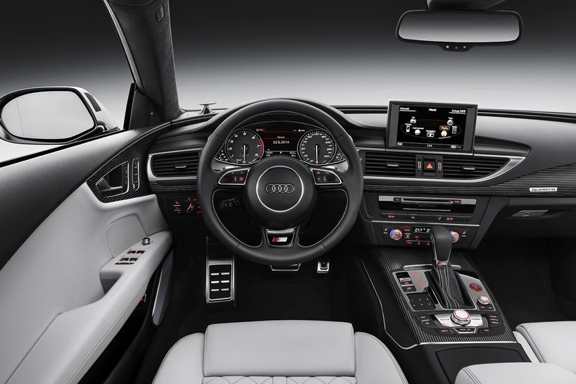 Audi with MMI head unit