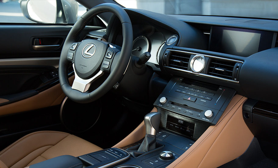 Lexus RC head unit