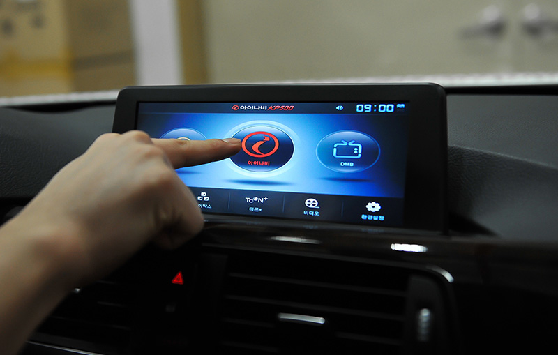 BMW touch panel