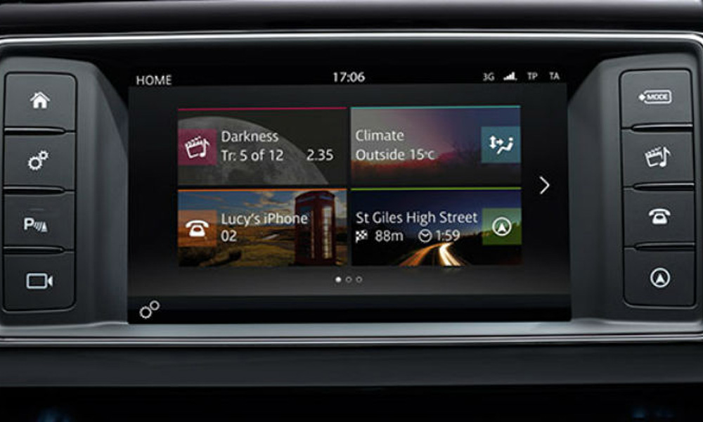video interface with hdmi for jaguar land rover range. Black Bedroom Furniture Sets. Home Design Ideas